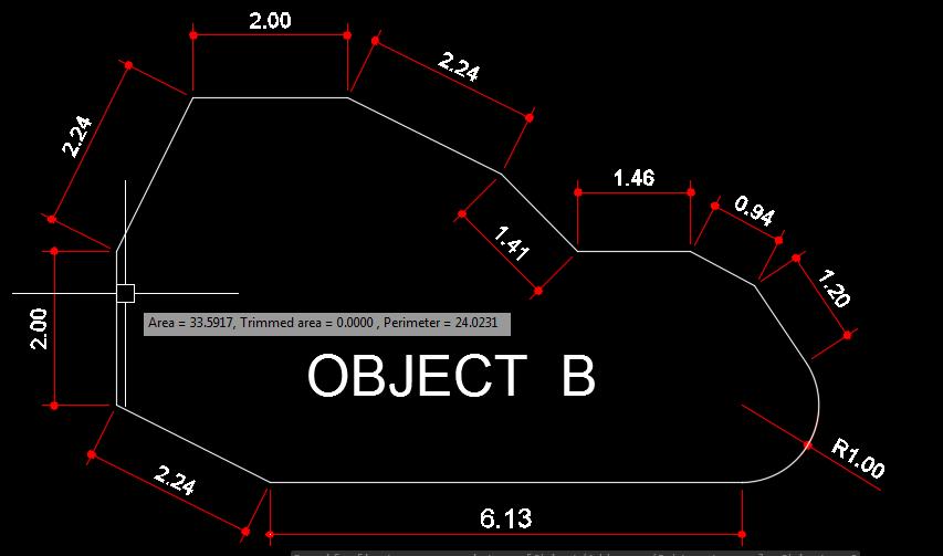 cara menghitung luas bangunan dengan Autocad,rumus area di autocad