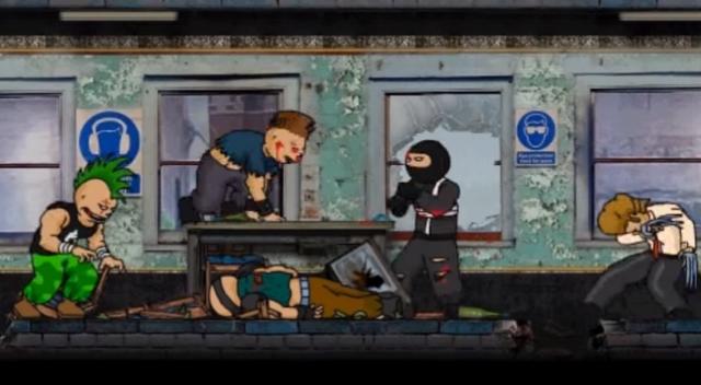 Epic Ninja Action! La pelea de ninjas más sangrienta de la historia de la animación