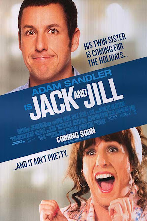 Poster Of Free Download Jack and Jill 2011 300MB Full Movie Hindi Dubbed 720P Bluray HD HEVC Small Size Pc Movie Only At worldfree4u.com