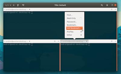 Tilix terminal emulator