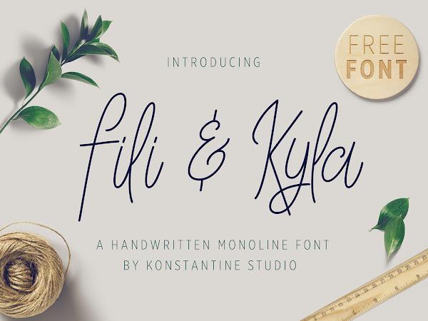 Download Fili & Kyla - Monoline Script Free