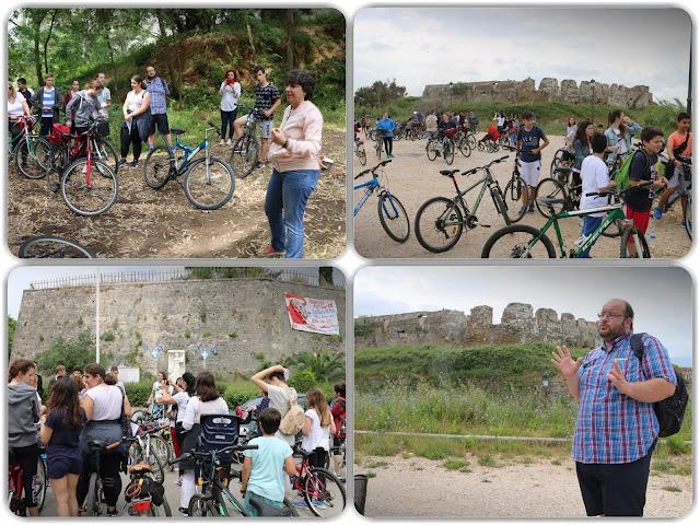 Πρέβεζα: Μαθητική ποδηλατοπορεία στα Κάστρα της πόλης από το 4ο Γυμνάσιο
