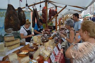Mercado de las fiestas de Beurko-Bagatza