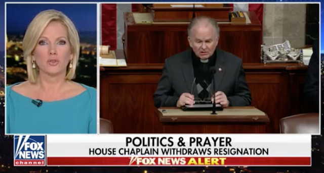 Ryan allows Rev. Patrick Conroy to keep job after House chaplain rescinds resignation