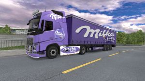 Milka pack for Volvo 2012