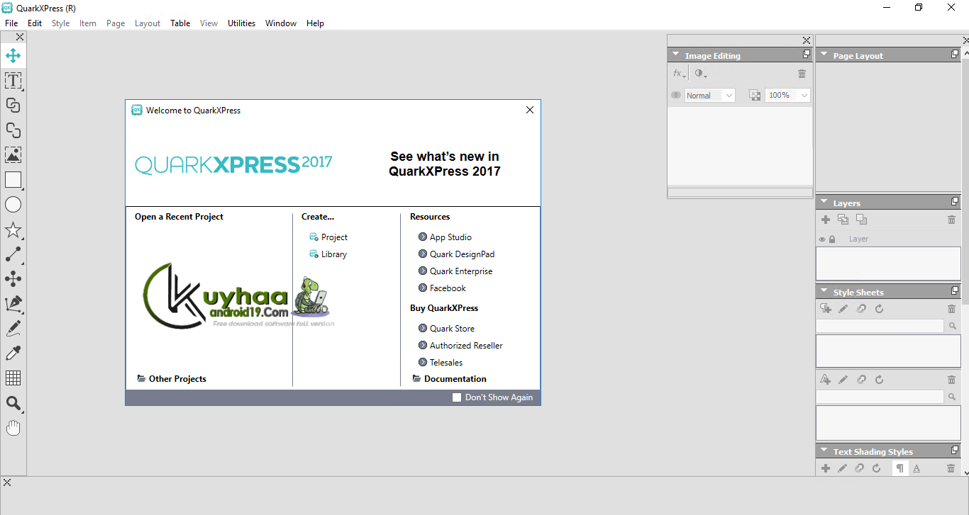 QuarkXPress kuyhaa