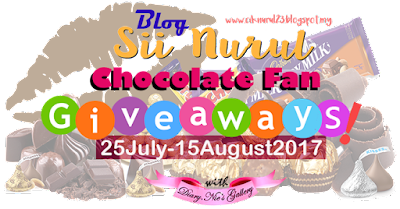Chocolate Fan Giveaways by Sii Nurul