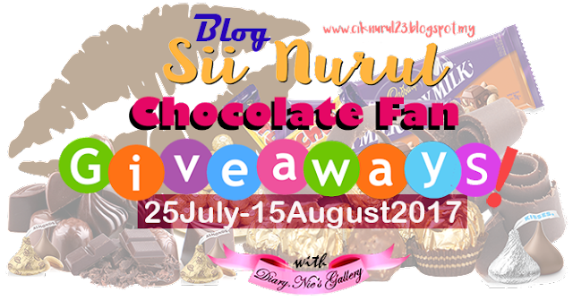 Chocolate Fan Giveaways by Sii Nurul.
