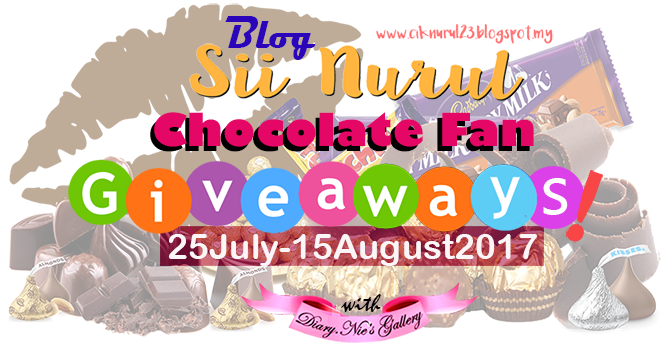 Chocolate Fan Giveaways by Sii Nurul (TAMAT)