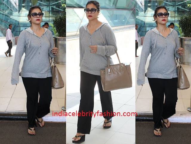 Kajol's Casual Airport Look