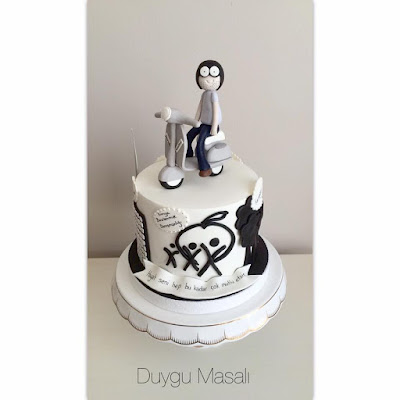 edirne yetişkin doğum günü pastası