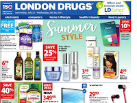 London Drugs Flyer Great Deals valid July 21 - 26, 2017