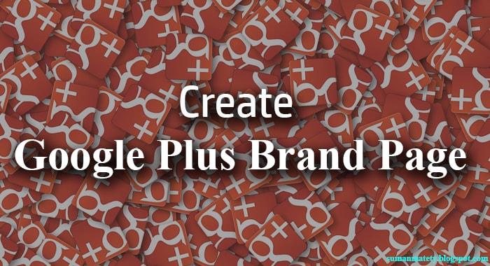 create google plus business page