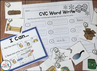 winter themed centers for kindergarten