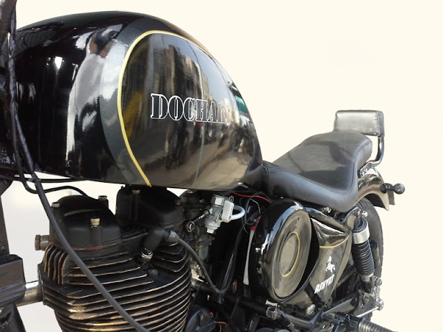Ashvat by Dochaki Designs Pune Custom Royal Enfield
