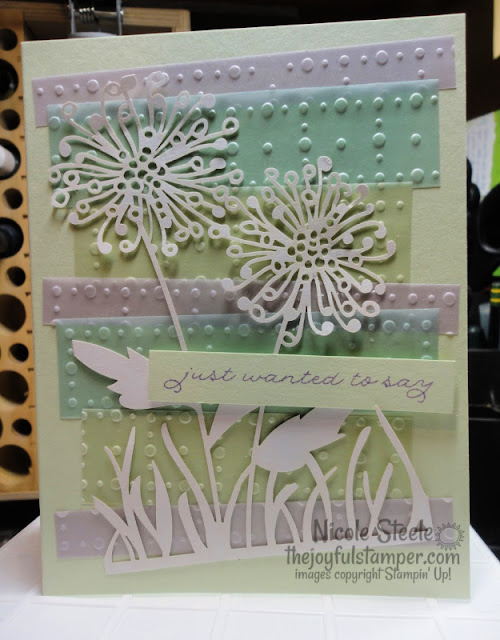 Set of Thank You cards using So Very Vellum and Shimmer Detailed Laser-Cut Specialty Designer Series Papers and Ornate Thanks stamp set  Nicole Steele The Joyful Stamper   Stampin' Up!