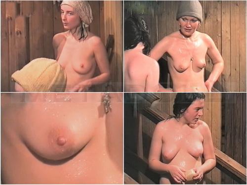 Women in the shower filmed by a hidden camera (Hidden Shower 291-330)