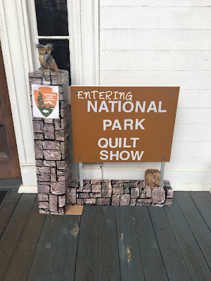 national parks exhibit, bulloch hall quilt guild, the great american cover-up, quilt show