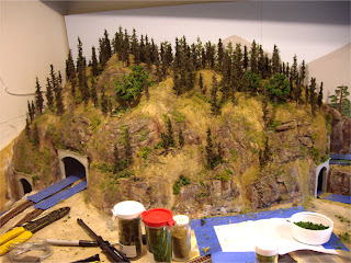 model railway layout diagrams ty s    model    railroad    layout    scenery part i     the mountain  ty s    model    railroad    layout    scenery part i     the mountain