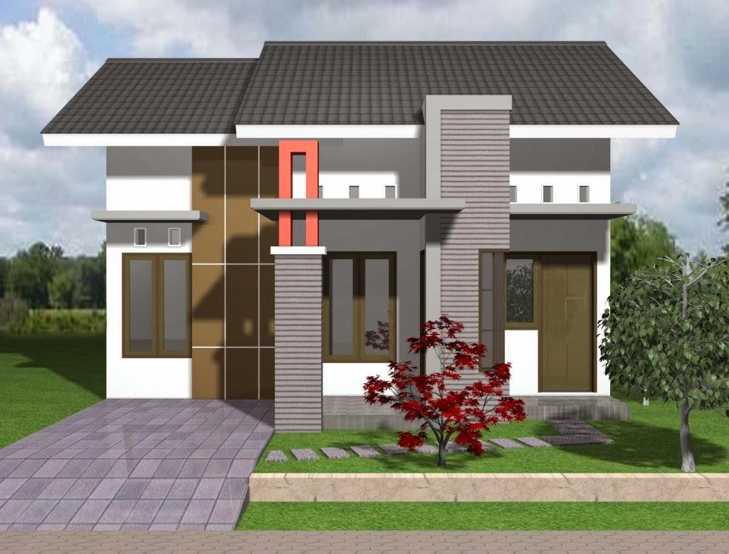 Desain Pagar Rumah Minimalis Type 21 Wallpaper Dinding