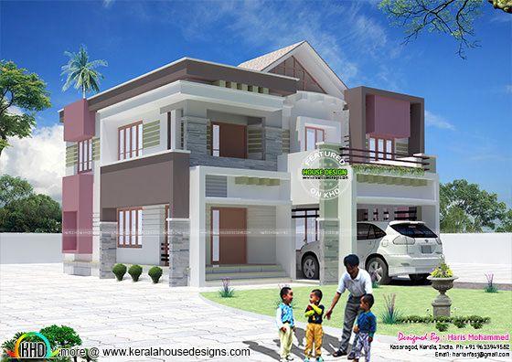 2554 sq-ft modern residence