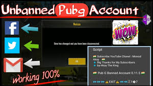 UNBANNED PUBG ACCOUNT SCRIPT 12 1 UPDATED - AKAY CORPORATION