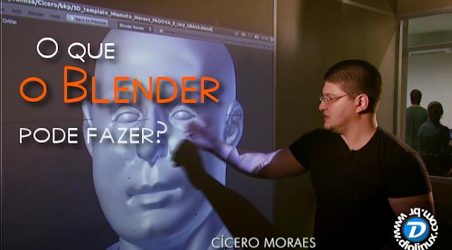 Tudo sobre o Blender 3D