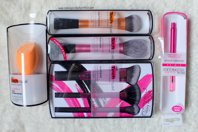 Real Techniques Makeup Brushes Haul