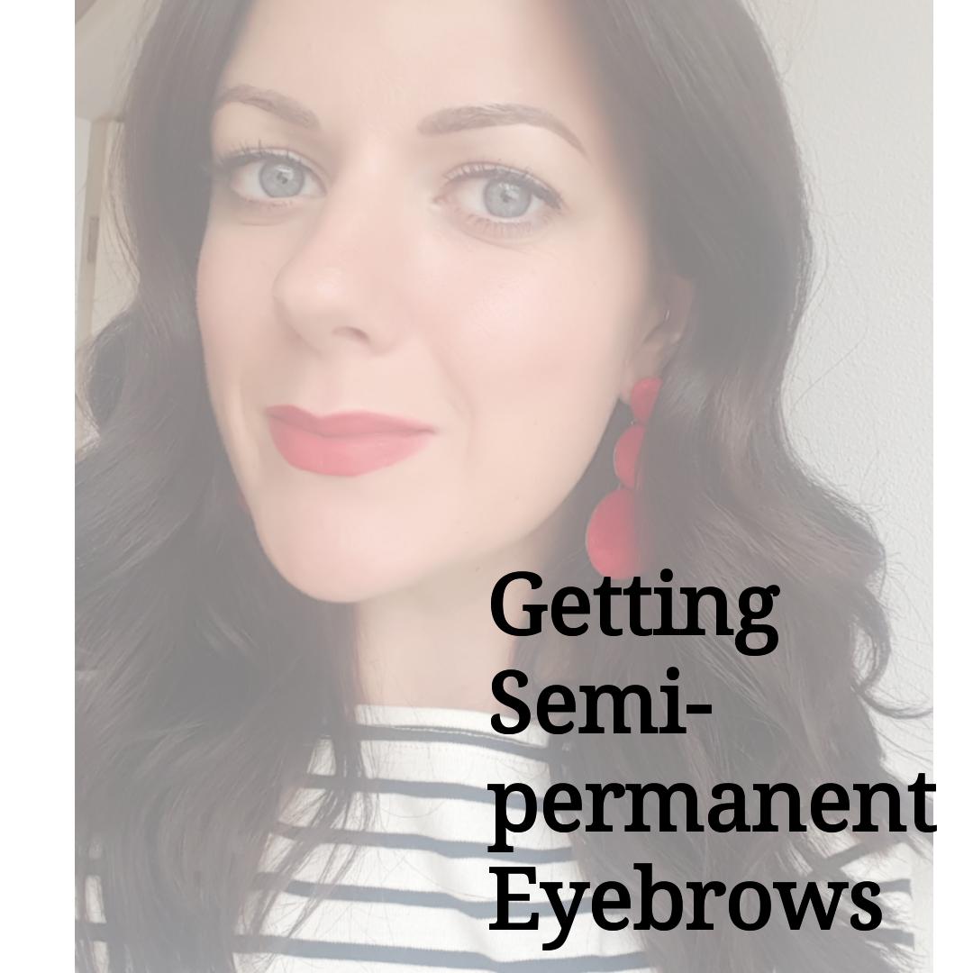 Semi Permanent Eyebrows Rachel The Hat