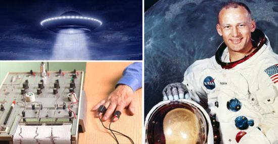 Astronautas passaram por detector de mentiras para provar que viram alienígenas na Lua - Capa