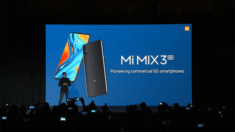 #MWC19: Xiaomi MIX 3 5G with SD855 now official!