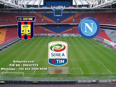 Prediksi Bola Liga Italia, Crotone Versus Napoli 30 Desember 2017