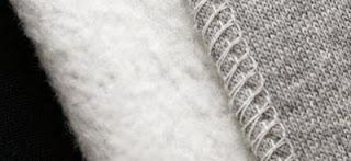 bahan katun fleece