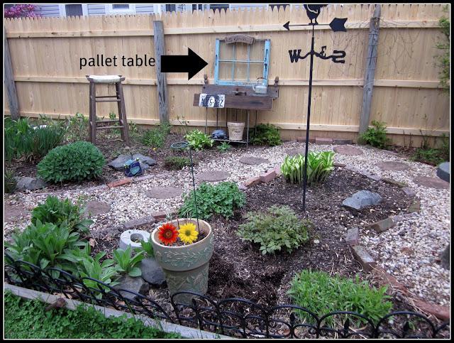 where to start planting a junk garden