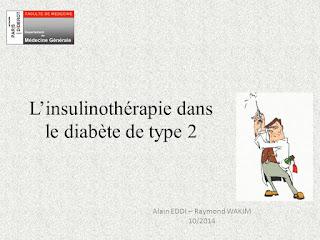 L'insulinothérapie dans le diabète de type 2