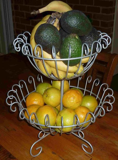 Simpleliving 2 Tiered Metal Fruit Basket
