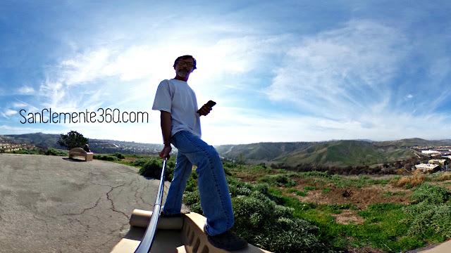 Pico Peak San Clemente Ridgeline Trail 360°