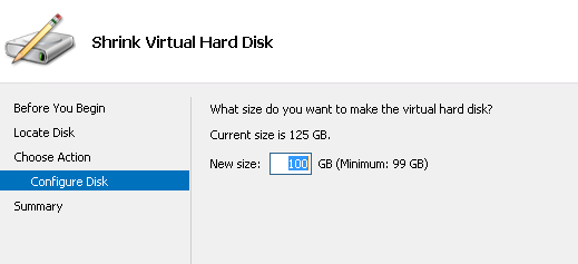 Terry L@u's blog: Online resize vhdx file in Windows Server 2012 R2