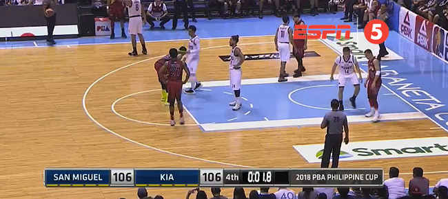 San Miguel def. Kia, 108-106 (REPLAY VIDEO) February 23
