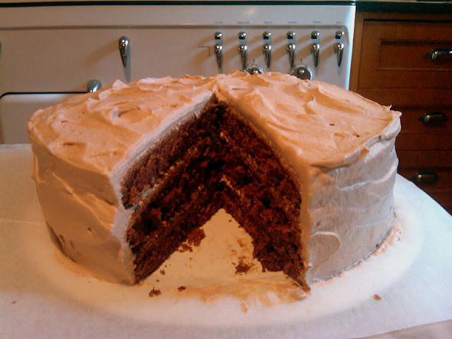 Mahogany Velvet Cake Recipe