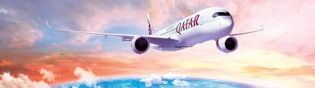 A350 von Qatar Airways