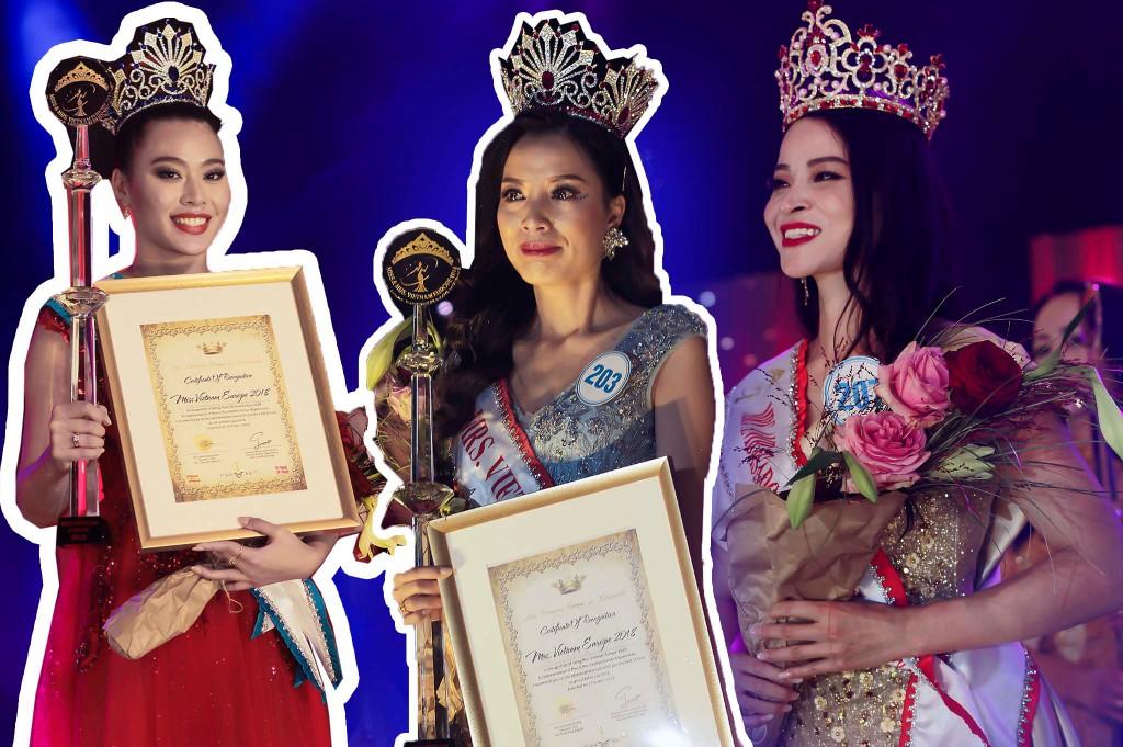 """Lilly La & Kiều Anh đăng quang """"Miss and Mrs Vietnam Europe 2018"""" tại Đan Mạch"""