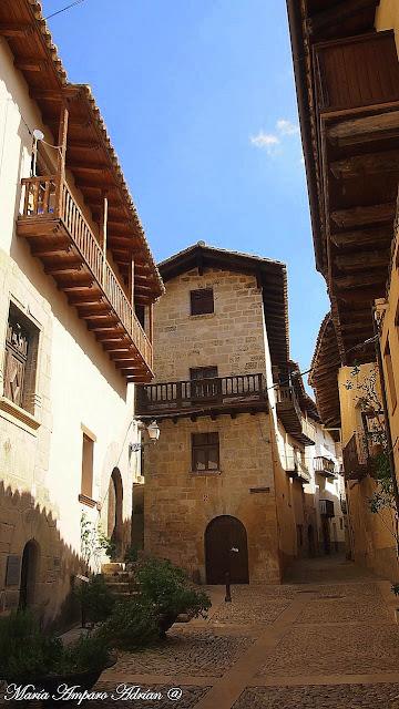 Peñaroya de Tastavins (Teruel).
