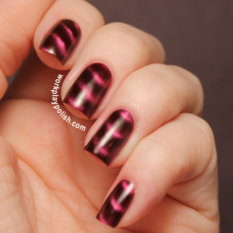 Sally Hansen Magnetic: Red-y Response