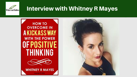 Interview with Whitney R Mayes