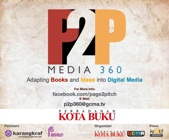 Pertandingan Page to Pitch (P2P) Media 360
