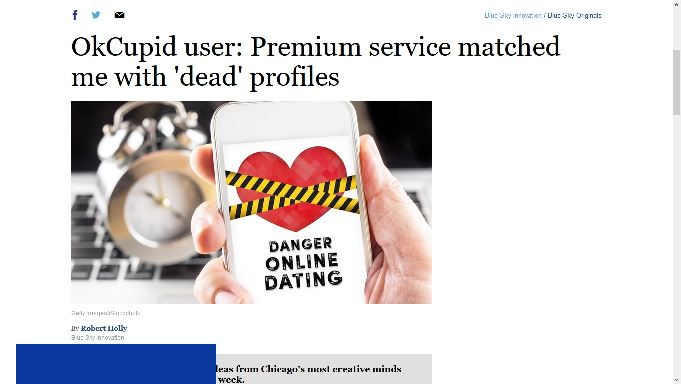 8 Reasons Online Dating Sites Are a Business Dead End