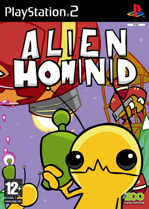 Alien Hominid PAL PS2