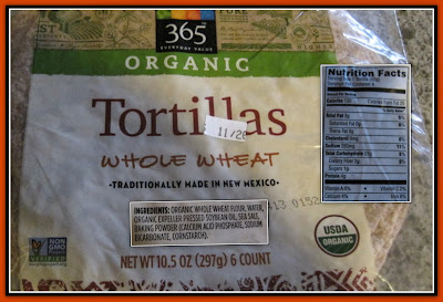 Whole Foods Organic Tortillas