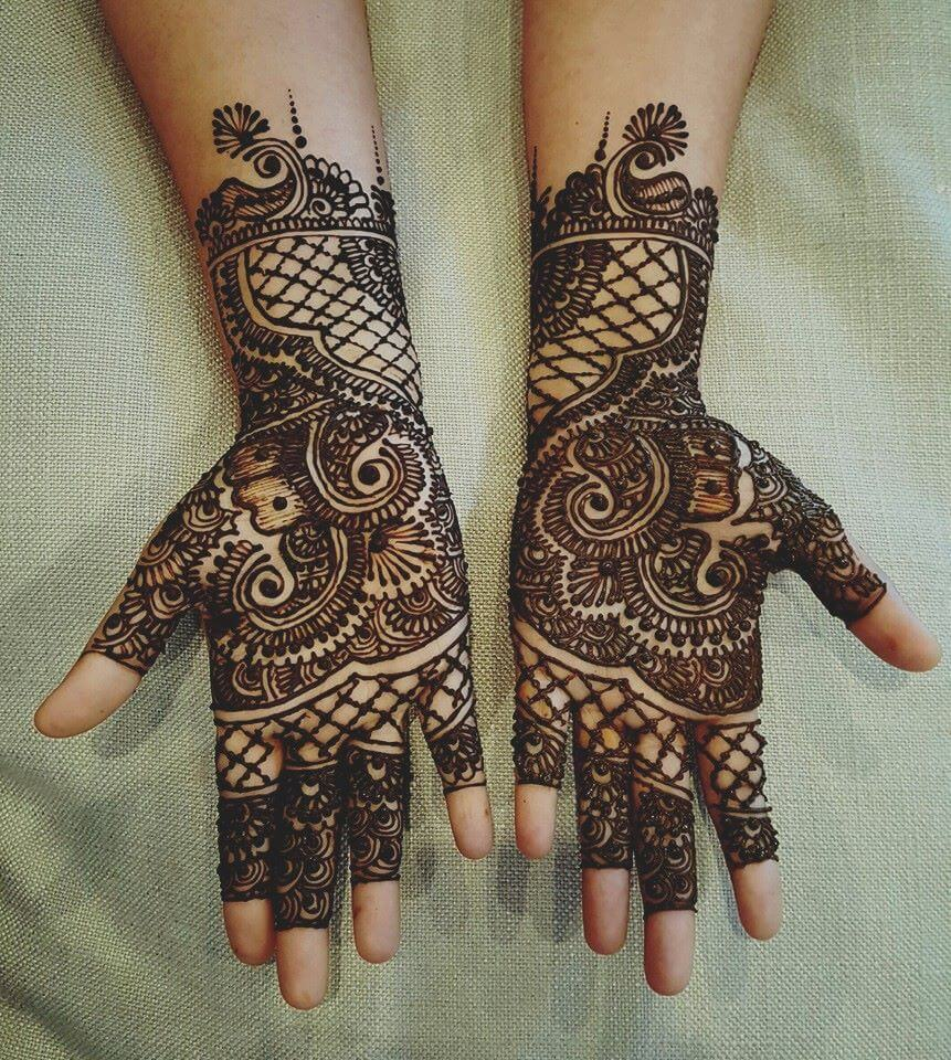 20 Beautful Henna Designs For Nikah: 20+ Beautiful Mehndi Designs For Inspiration